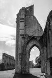 Ruinas de la abadía D de Glastonbury Fotografía de archivo