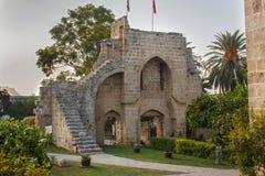 Ruinas de la abadía de Bellapais Fotografía de archivo