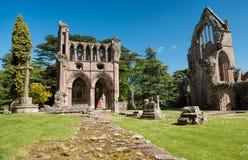Ruinas de la abadía de Dryburgh, Escocia Foto de archivo libre de regalías
