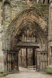 Ruinas de la abadía de Holyrood, Edimburgo Imágenes de archivo libres de regalías