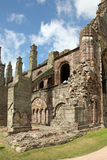 Ruinas de la abadía de Holyrood, Edimburgo Foto de archivo libre de regalías
