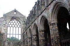 Ruinas de la abadía de Holyrood, Edimburgo Fotos de archivo libres de regalías