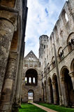 Ruinas de la abadía de Jumieges, Francia Fotografía de archivo libre de regalías