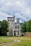 Ruinas de la abadía de Jumieges, Francia Imagen de archivo