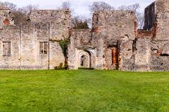 Ruinas de la abadía de Netley un monasterio cisterciense Fotografía de archivo libre de regalías