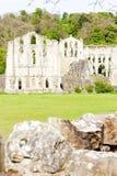 Ruinas de la abadía de Rievaulx Fotografía de archivo