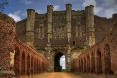 Ruinas de la abadía de Thornes en Inglaterra Imagen de archivo libre de regalías