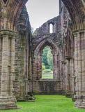 Ruinas de la abadía de Tintern, una iglesia anterior en País de Gales Fotos de archivo libres de regalías