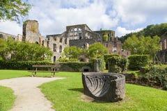 Ruinas de la abadía de Villers Fotos de archivo