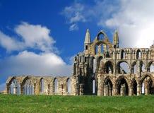 Ruinas de la abadía de Whitby Fotografía de archivo