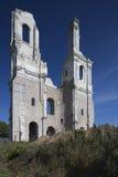 Ruinas de la abadía del Mont-santo-Eloi Foto de archivo