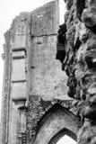 Ruinas de la abadía E de Glastonbury Imagenes de archivo