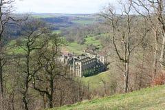 Ruinas de la abadía en Inglaterra Foto de archivo