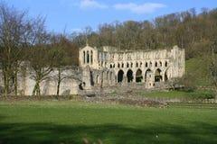 Ruinas de la abadía en Inglaterra Fotos de archivo
