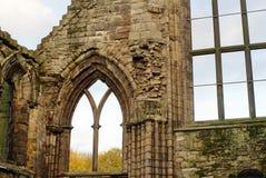 Ruinas de la abadía de Holyrood Imágenes de archivo libres de regalías