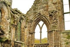 Ruinas de la abadía de Holyrood Imagen de archivo