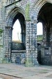 Ruinas de la abadía de Holyrood Fotografía de archivo libre de regalías