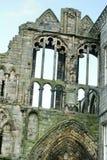 Ruinas de la abadía de Holyrood Imagen de archivo libre de regalías