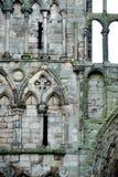 Ruinas de la abadía de Holyrood Imagenes de archivo