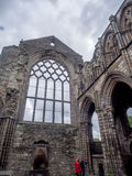 Ruinas de la abadía de Holyrood Fotos de archivo