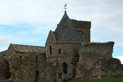 Ruinas de la abadía, isla de Inchcolm, Escocia Foto de archivo