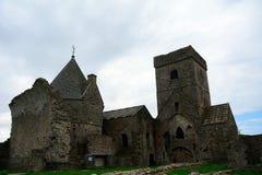 Ruinas de la abadía, isla de Inchcolm, Escocia Imagenes de archivo