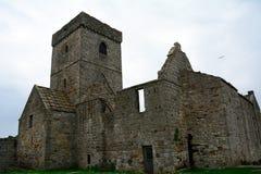 Ruinas de la abadía, isla de Inchcolm, Escocia Imagen de archivo libre de regalías