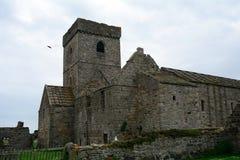 Ruinas de la abadía, isla de Inchcolm, Escocia Fotos de archivo
