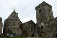 Ruinas de la abadía, isla de Inchcolm, Escocia Imagen de archivo