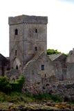 Ruinas de la abadía, isla de Inchcolm, Escocia Imágenes de archivo libres de regalías