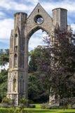 Ruinas de la abadía de Walsingham Fotografía de archivo libre de regalías