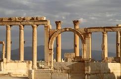 Ruinas de la antigüedad del Palmyra Fotografía de archivo libre de regalías