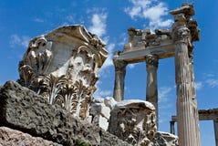 Ruinas de la antigüedad en Ephesus Fotografía de archivo libre de regalías