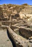 Ruinas de la barranca de Chaco Foto de archivo libre de regalías