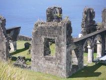 Ruinas de la batalla Imagen de archivo libre de regalías