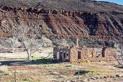 Ruinas de la casa Fotos de archivo libres de regalías