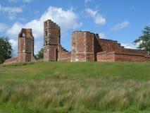 Ruinas de la casa de Bradgate fotos de archivo libres de regalías