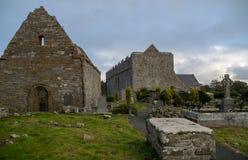 Ruinas de la catedral de Ardfert en Irlanda Fotos de archivo libres de regalías