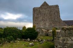 Ruinas de la catedral de Ardfert en Irlanda Fotografía de archivo libre de regalías