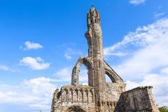 Ruinas de la catedral del St Andrews Imagenes de archivo