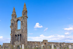 Ruinas de la catedral del St Andrews Fotos de archivo libres de regalías