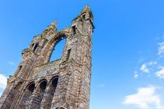 Ruinas de la catedral del St Andrews Imágenes de archivo libres de regalías