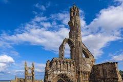 Ruinas de la catedral del St Andrews Imagen de archivo libre de regalías