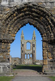 Ruinas de la catedral del St Andrews Foto de archivo libre de regalías