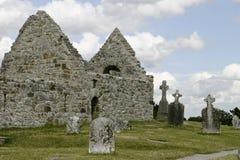 Ruinas de la catedral del St. Kieran Fotos de archivo