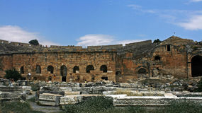 Ruinas de la ciudad acient Foto de archivo libre de regalías