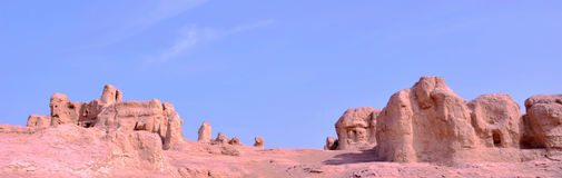 Ruinas de la ciudad antigua Foto de archivo