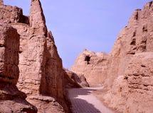 Ruinas de la ciudad antigua Fotografía de archivo