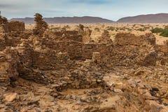 Ruinas de la ciudad antigua Fotos de archivo libres de regalías