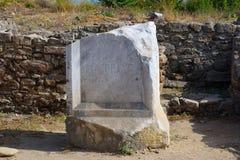 Ruinas de la ciudad antigua de la cara 3 Imagenes de archivo